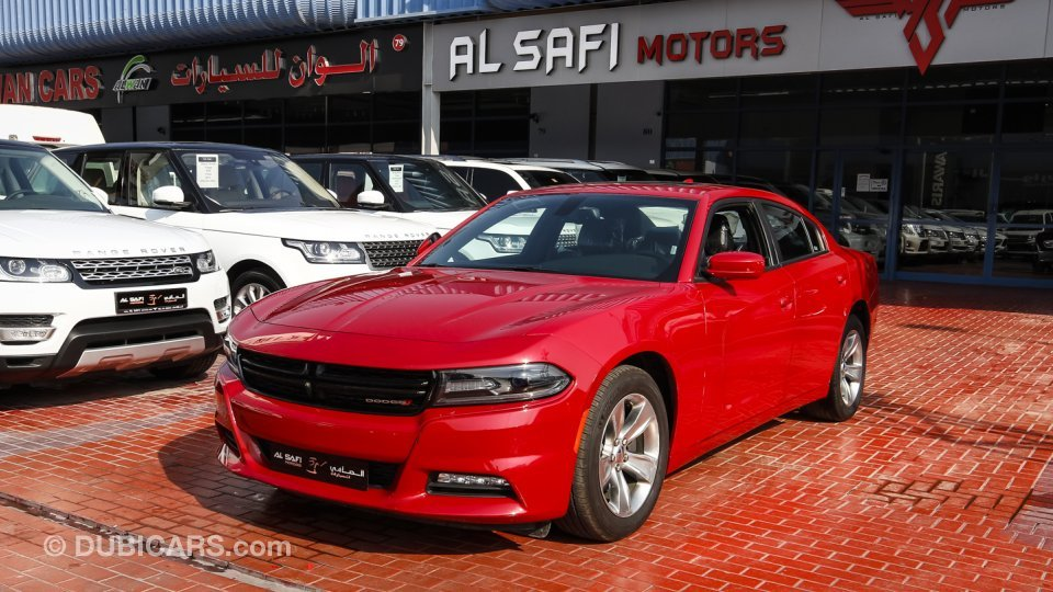 dodge charger sxt v6 for sale aed 98 000 red 2015. Black Bedroom Furniture Sets. Home Design Ideas