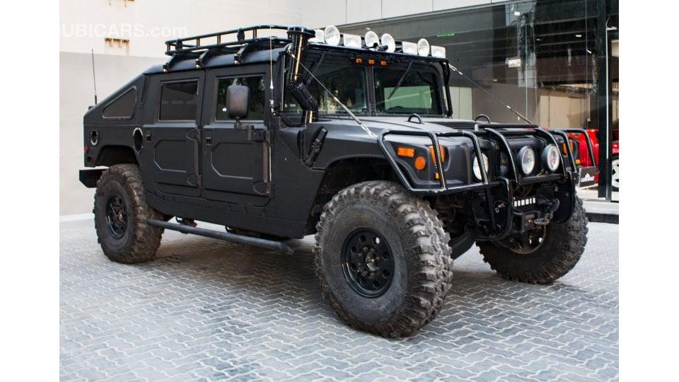 Hummer H1 Civilian Version For Sale: AED 375,000. Black, 1997
