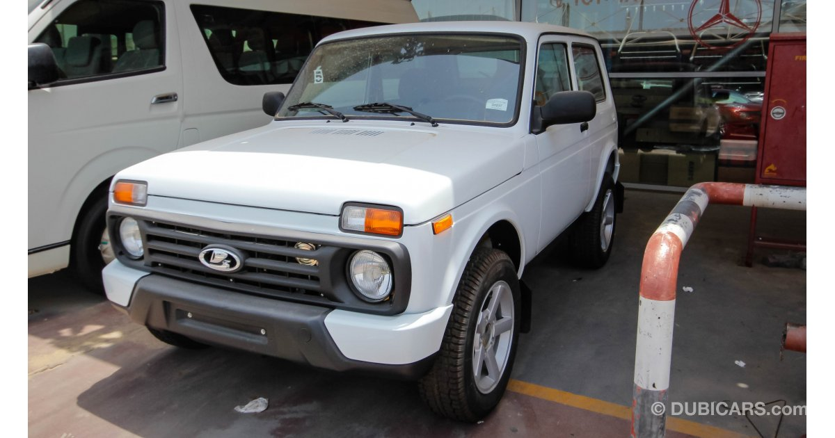 lada niva 4x4 for sale aed 38 500 white 2016. Black Bedroom Furniture Sets. Home Design Ideas