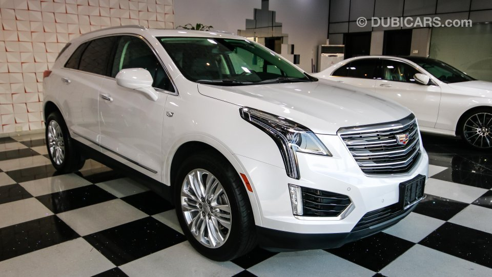 Cadillac Xt5 3 6 Awd For Sale Aed 160 000 White 2017