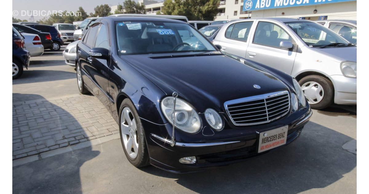 Mercedes benz e 500 for sale aed 29 000 blue 2003 for Mercedes benz e500 price