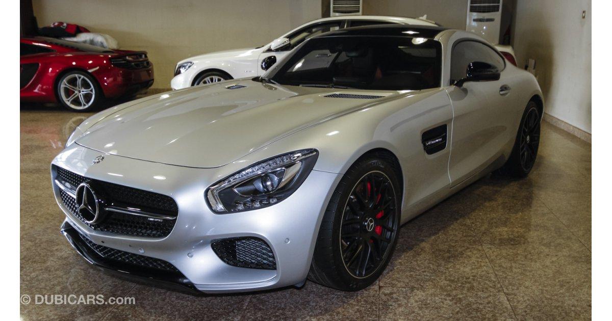 Mercedes benz amg gt s v8 biturbo for sale grey silver 2016 for Mercedes benz amg v8 biturbo
