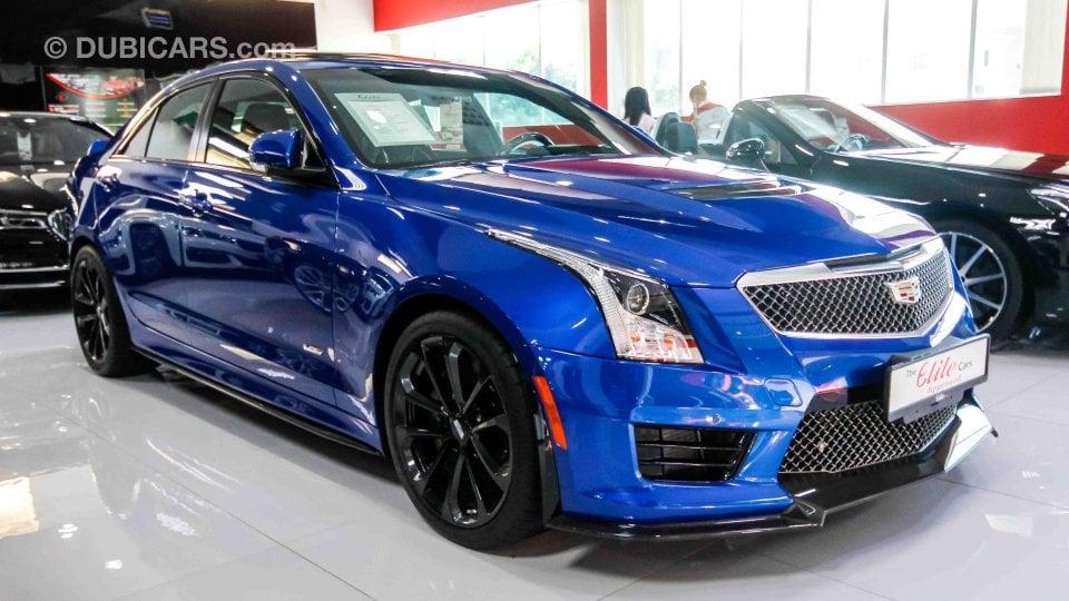 Cadillac Ats V >> Cadillac ATS V for sale: AED 220,000. Blue, 2017