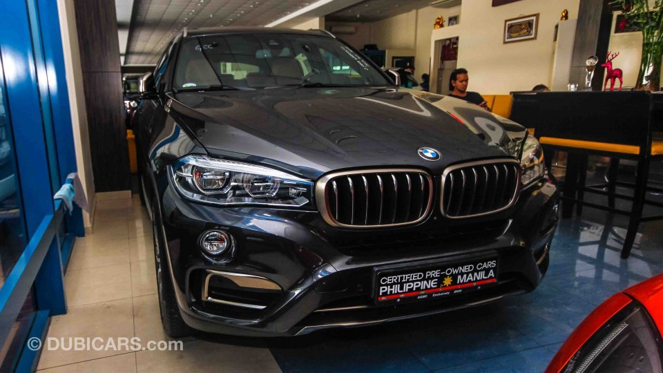 Bmw X6 Xdrive 50i For Sale Aed 299 500 Grey Silver 2017