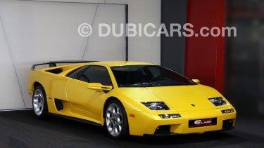 Lamborghini Diablo Vt 6 0l For Sale Aed 1 450 000 Yellow 2001