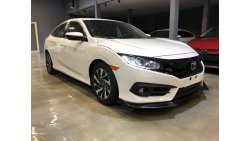 Honda Civic 2018 civic USA specs