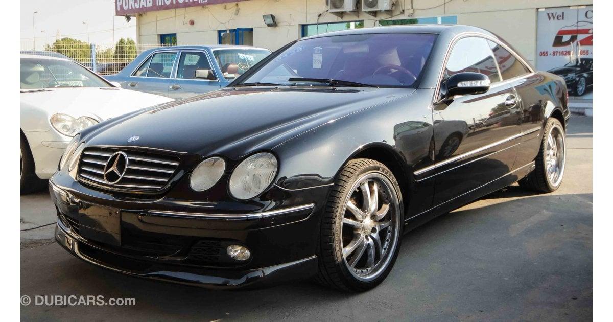 Mercedes benz cl 500 for sale black 2004 for Black mercedes benz for sale