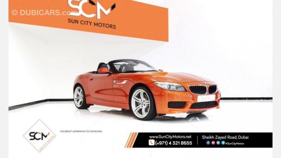 Bmw Z4 Sdrive 28i M Kit For Sale Aed 125 000 Orange 2015