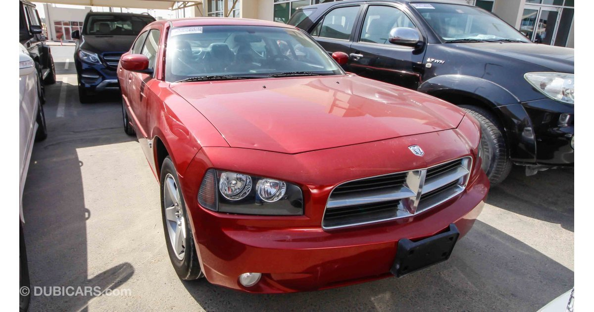 Dodge Charger 3 5l For Sale Aed 20 000 Red 2010
