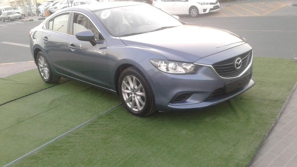 mazda 6 for sale aed 36 000 blue 2015. Black Bedroom Furniture Sets. Home Design Ideas