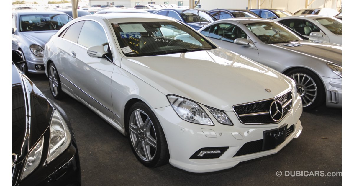 Mercedes benz e 550 coupe amg for sale white 2010 for 550 amg mercedes benz
