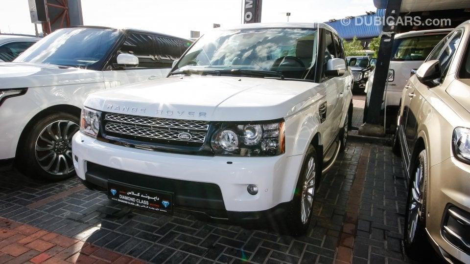 land rover range rover sport hse for sale white 2013. Black Bedroom Furniture Sets. Home Design Ideas