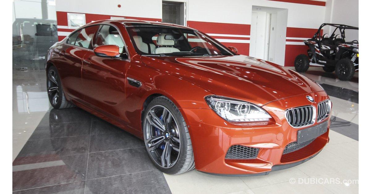 bmw m6 gran coupe for sale aed 275 000 orange 2014. Black Bedroom Furniture Sets. Home Design Ideas