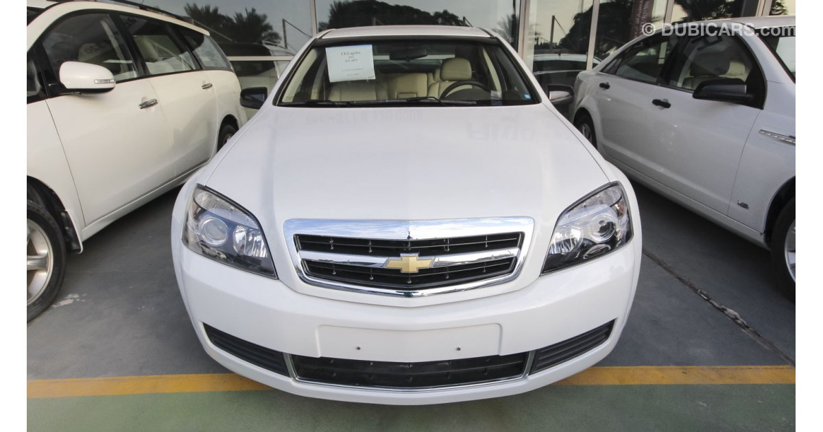 Chevrolet Caprice for sale: AED 54,000. White, 2012