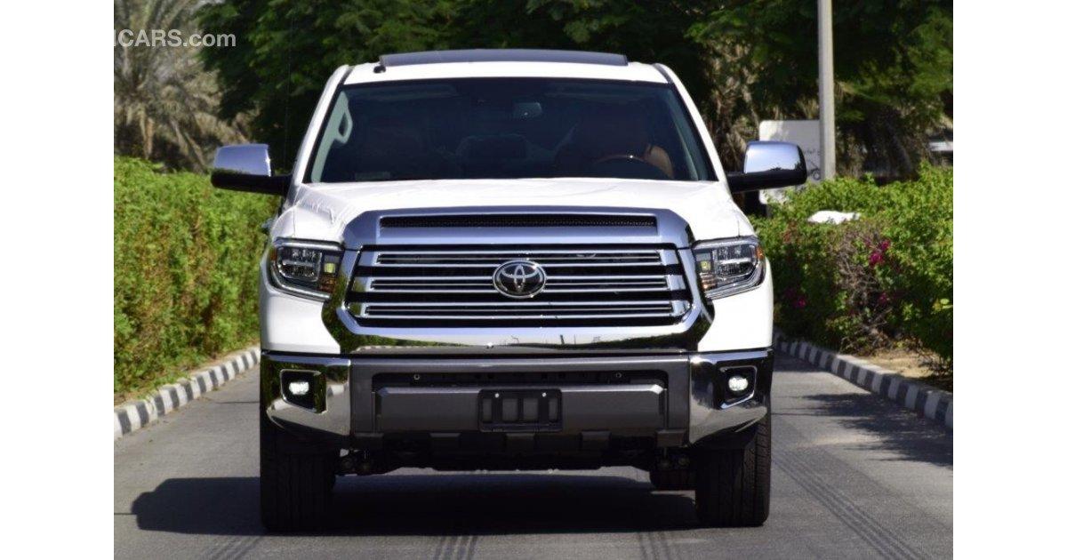 Toyota Tundra 5.7L Crewmax 1794 Edtiion for sale. White, 2018