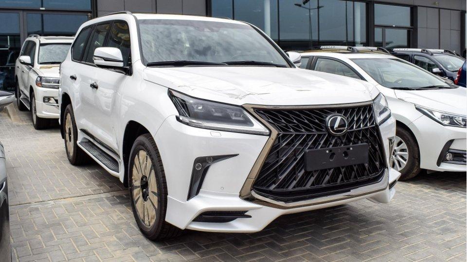 Lexus Lx 570 Black Edition Sport For Sale White 2019