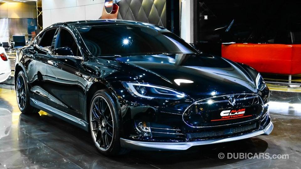 Lexus Cars For Sale >> Tesla Model S P85 D for sale: AED 385,000. Black, 2013