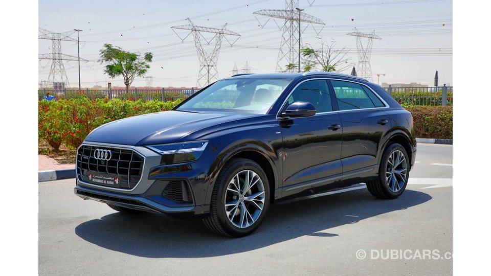 Audi Used Car Finance >> Audi Q8 55 TFSI G.C.C FULL OPTION DEALER WARRANTY ...
