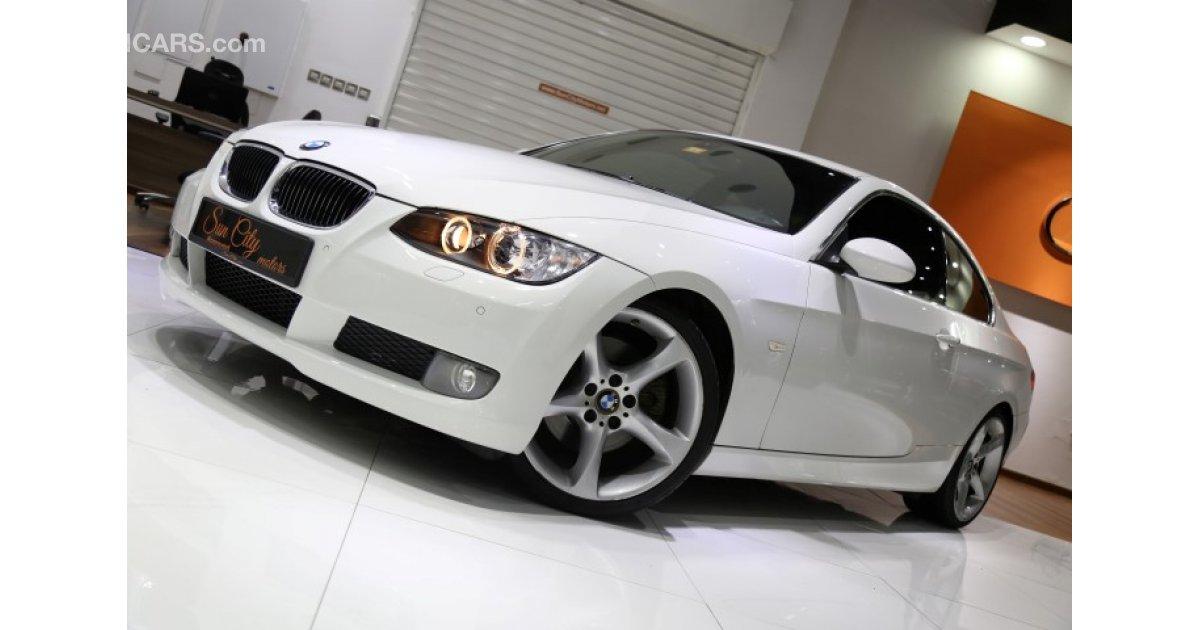 Bmw 330 Ci Coupe White Red Gcc Specs Amazing Condition