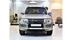 Mitsubishi Pajero ONLY 30000 KM!!! Mitsubishi Pajero GLS 2015 Model!! in Gold Color! GCC Specs