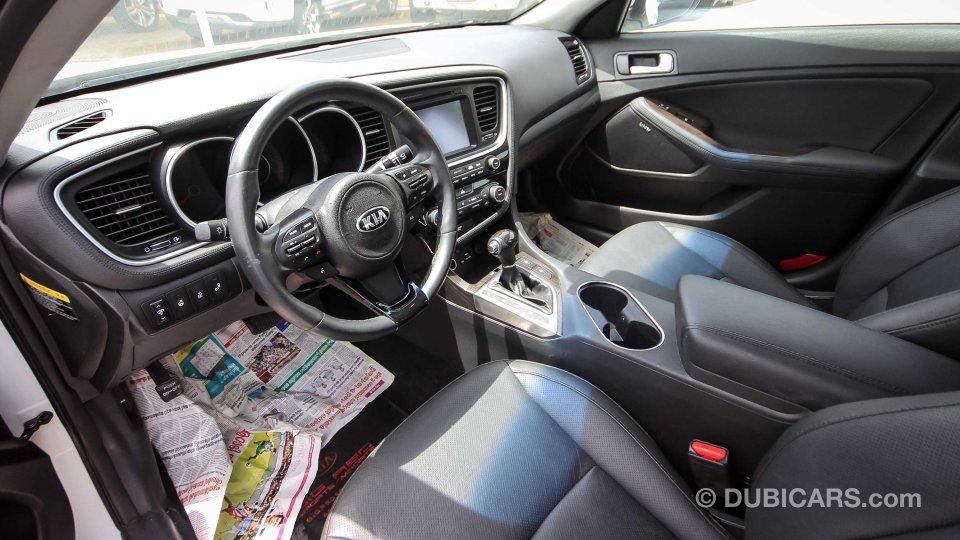 Used Kia Optima For Sale >> Kia Optima EX GDI for sale: AED 45,000. White, 2015
