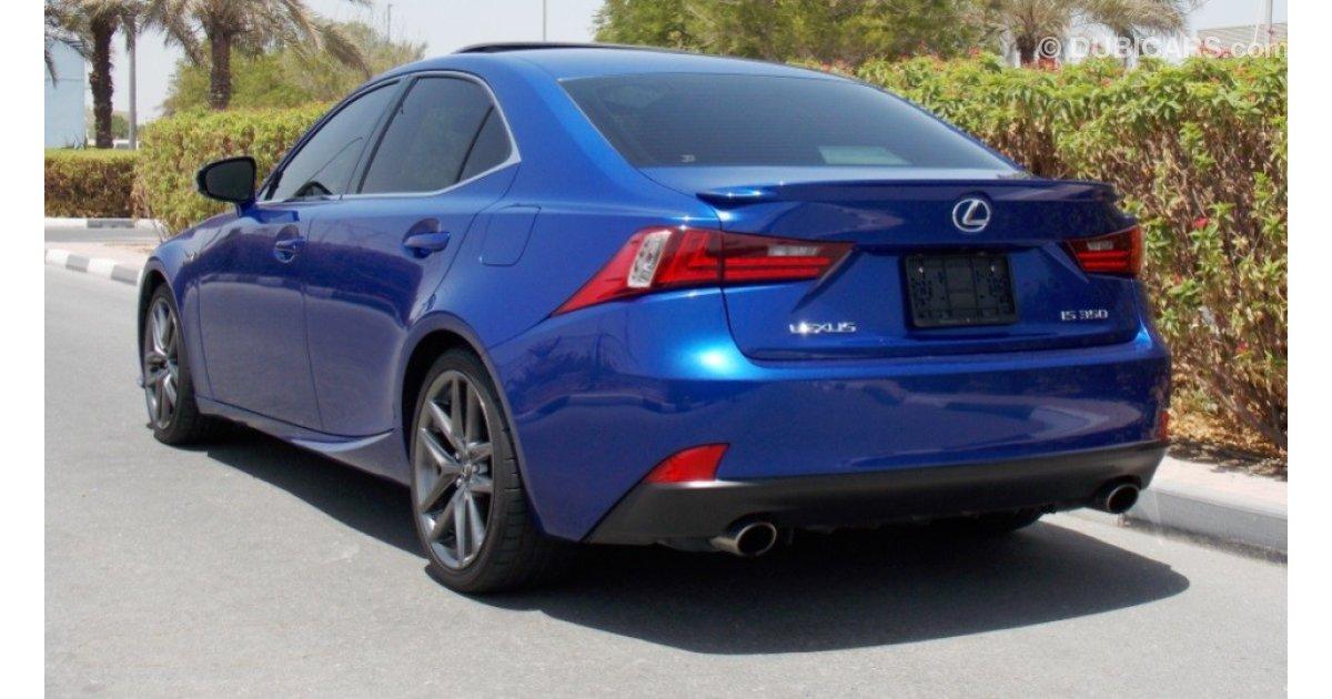 2014 Lexus Is350 F Sport Specs >> Lexus IS 350 2014 F-Sport Package Pre-Owned GCC 3.5 L Cylinders V6 306 hp 54000 km Under ...