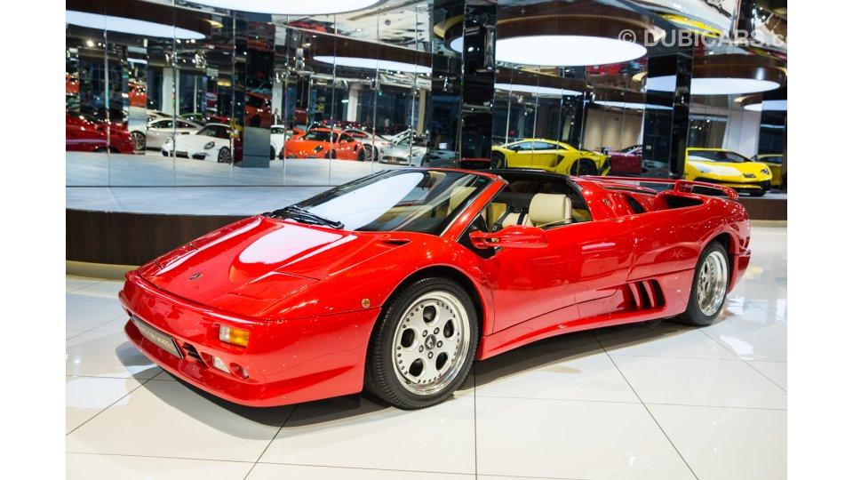 Lamborghini Diablo Vt Roadster For Sale Aed 999 000 Red 1997