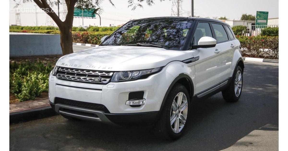 land rover range rover evoque for sale aed 157 000 white 2015. Black Bedroom Furniture Sets. Home Design Ideas