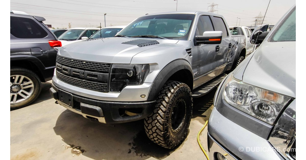 ford raptor 6 2l for sale aed 120 000 grey silver 2011. Black Bedroom Furniture Sets. Home Design Ideas