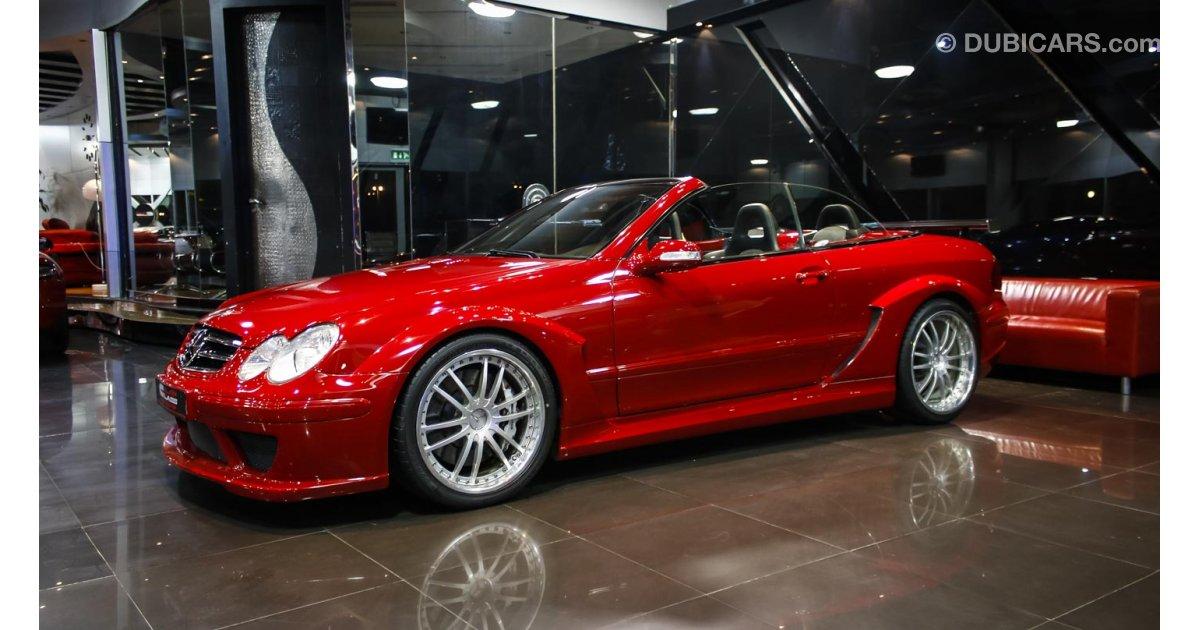 Mercedes benz clk 55 amg dtm for sale red 2007 for Mercedes benz clk for sale