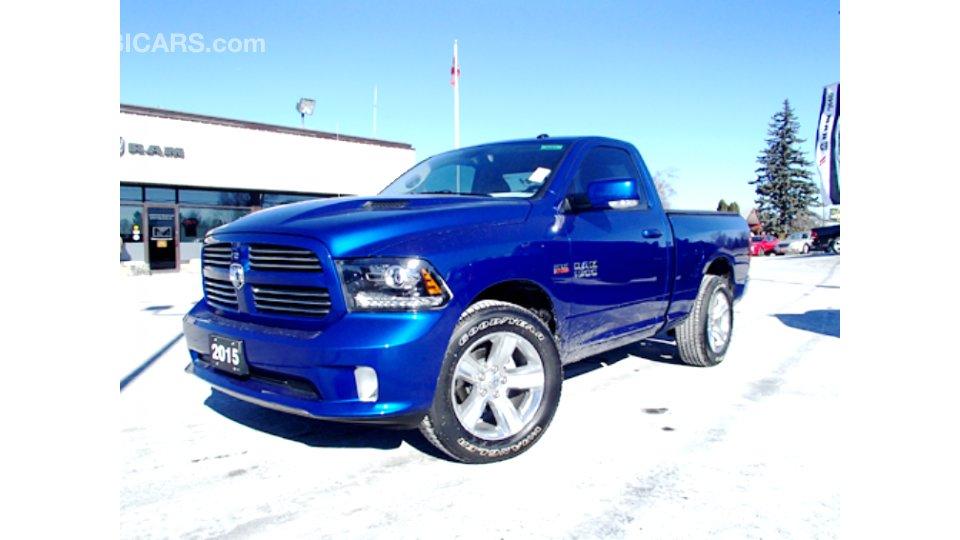 Dodge Ram 2015 1500 Sport V8 383 Hp 4x4 5 7 L