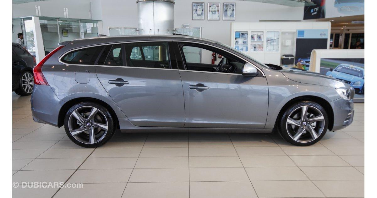 volvo v60 t5 245 bhp r design 2016 new car for sale aed 136 900 grey silver 2016. Black Bedroom Furniture Sets. Home Design Ideas