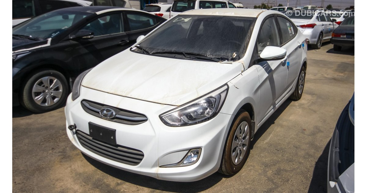 Hyundai Accent 1.4 L for sale: AED 35,500. White, 2017