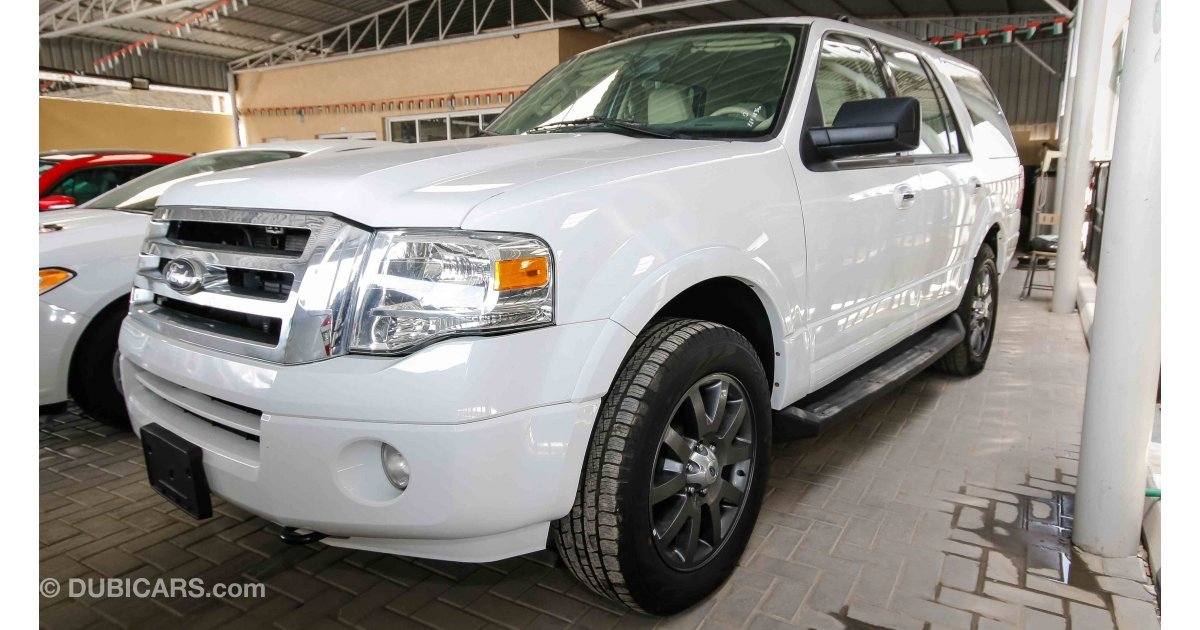 ford expedition for sale aed 77 000 white 2014. Black Bedroom Furniture Sets. Home Design Ideas