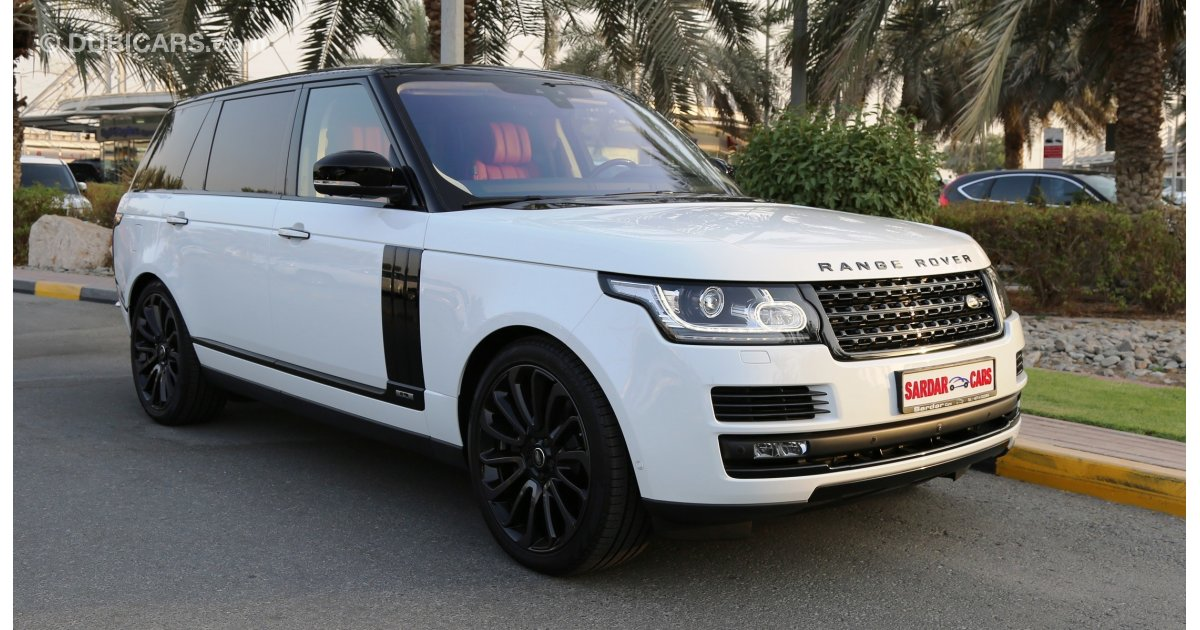 Land Rover Range Rover Autobiography Lwb Black Package For
