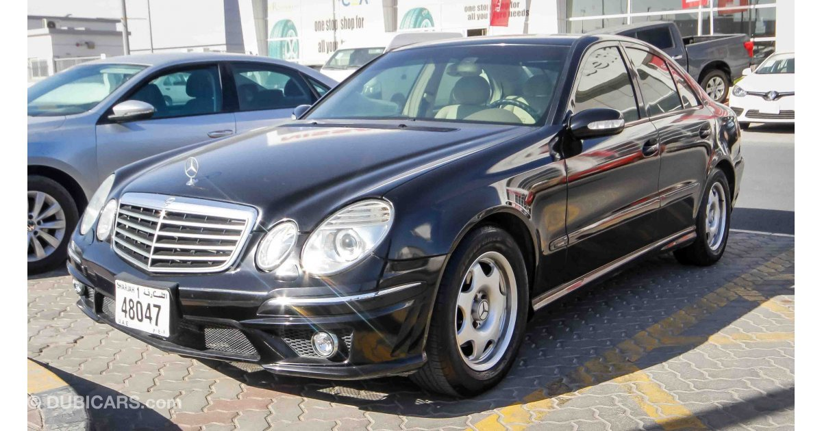 Mercedes benz e 200 for sale aed 11 000 black 2003 for Mercedes benz for sale under 5000