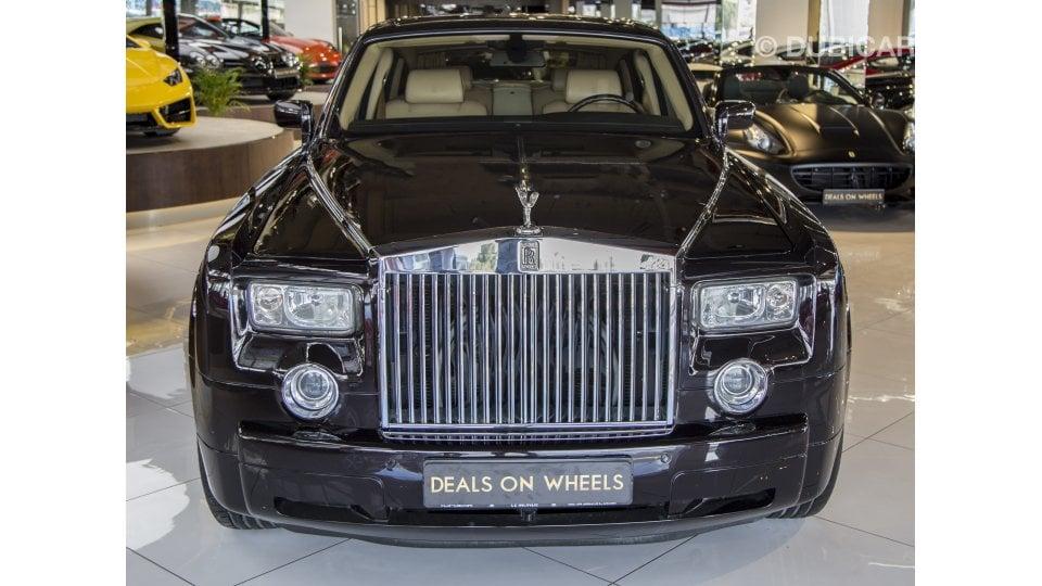 rolls royce phantom for sale aed 355 000 black 2006. Black Bedroom Furniture Sets. Home Design Ideas