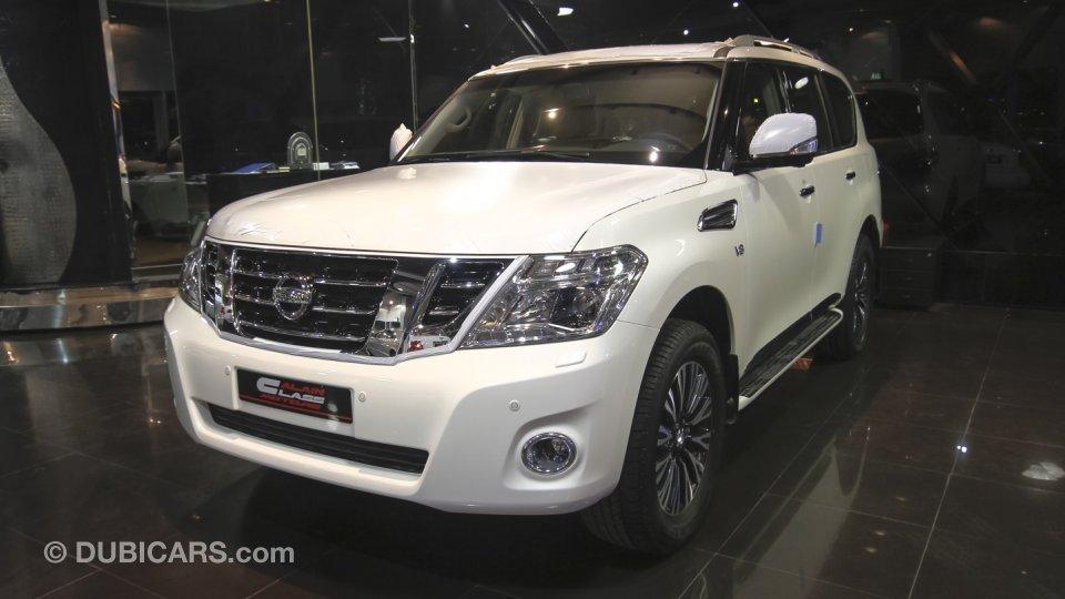 Nissan Patrol Platinum V8 For Sale: AED 218,000. White, 2016