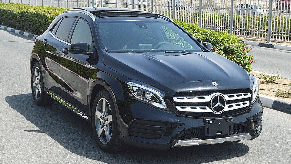 Gla 250 2 0l i 4 turbo 0km gcc specs with 2 for Mercedes benz unlimited mileage warranty