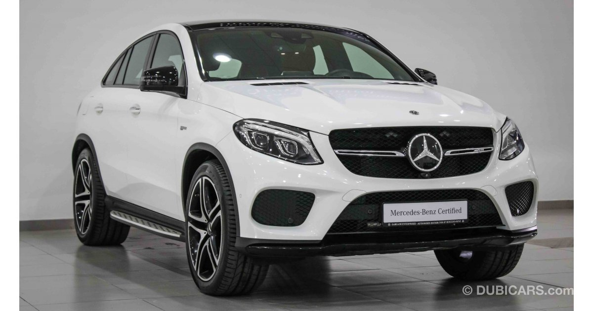 Mercedes Benz Gle 43 Amg Biturbo 4matic For Sale White 2017