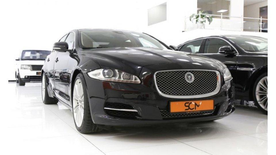 jaguar xj 5 0 portfolio for sale aed 85 000 black 2012. Black Bedroom Furniture Sets. Home Design Ideas