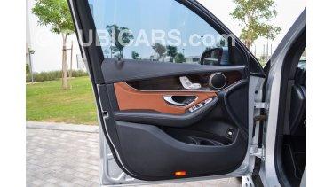 Mercedes-Benz GLC 300 for sale: AED 172,000  Grey/Silver, 2017