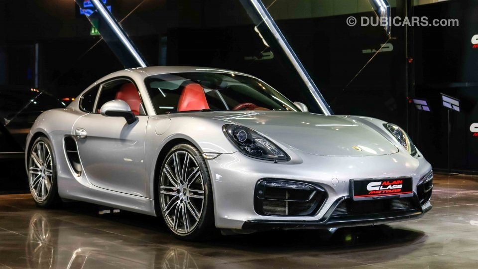 porsche cayman gts for sale aed 179 000 grey silver 2015. Black Bedroom Furniture Sets. Home Design Ideas