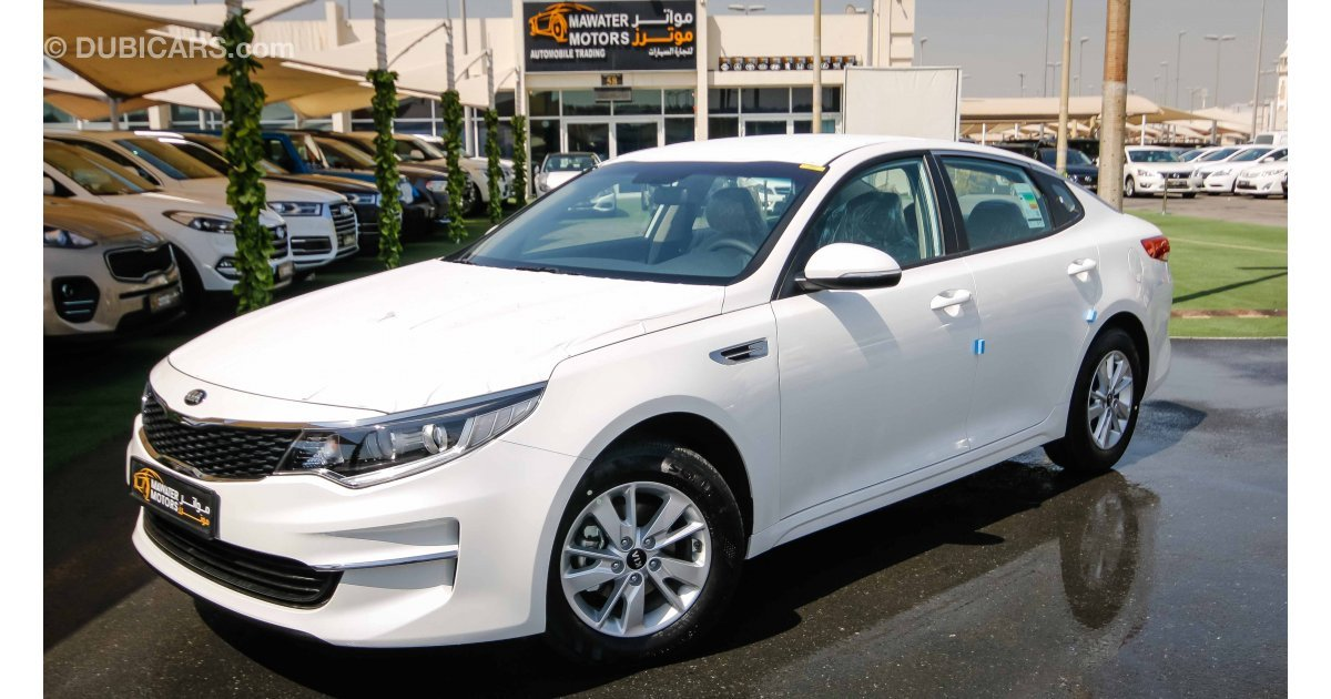 kia optima for sale aed 64 999 white 2018. Black Bedroom Furniture Sets. Home Design Ideas