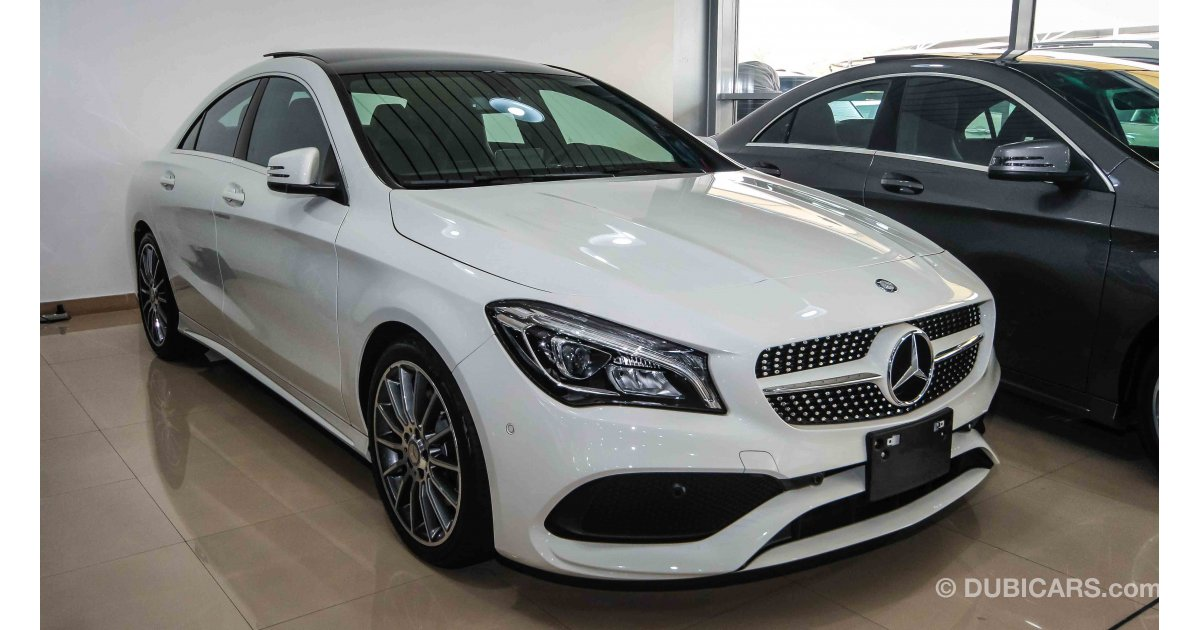 Mercedes benz cla 250 for sale aed 167 999 white 2018 for Mercedes benz cla 250 for sale