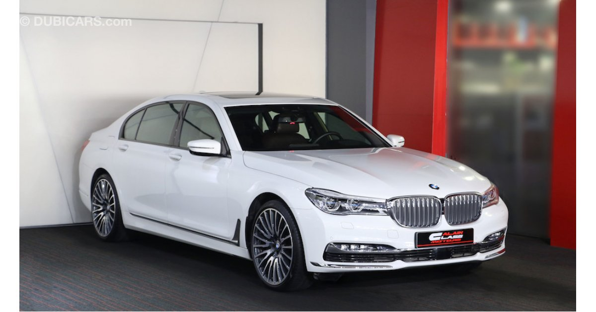 bmw 750 li x drive for sale aed 359 000 white 2016. Black Bedroom Furniture Sets. Home Design Ideas