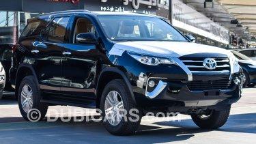 Toyota Fortuner for sale  Black, 2019