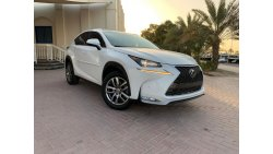 Lexus NX 200 LIMITED F-SPORTS START & STOP ENGINE 2.0L V4 2016 AMERICAN SPECIFICATION
