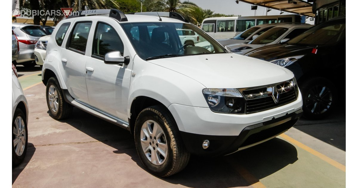 renault duster for sale aed 37 900 white 2015. Black Bedroom Furniture Sets. Home Design Ideas