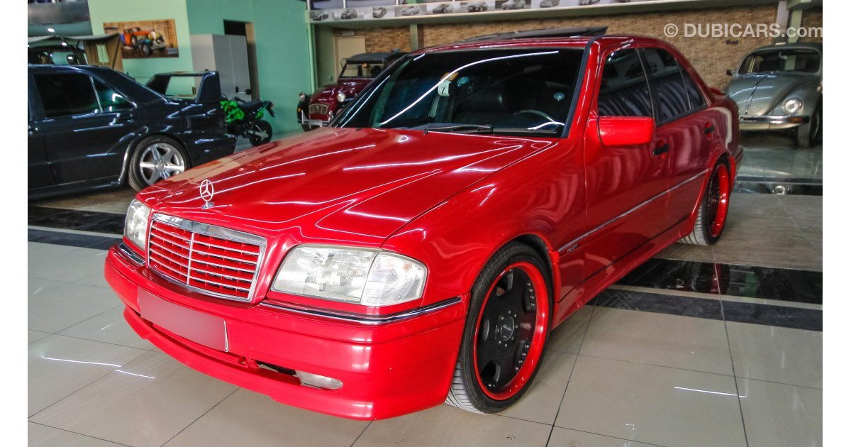 Mercedes benz c 36 amg for sale aed 15 000 red 1995 for Mercedes benz 15000